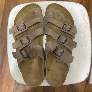 Birkenstock three strap sandal, size 41